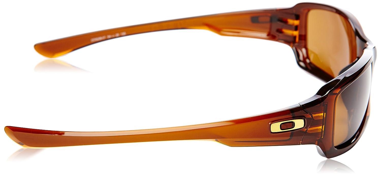 Oakley Fives Squared Polished Rootbeer / Dark Bronze Lens Mens Sunglasses: Oakley