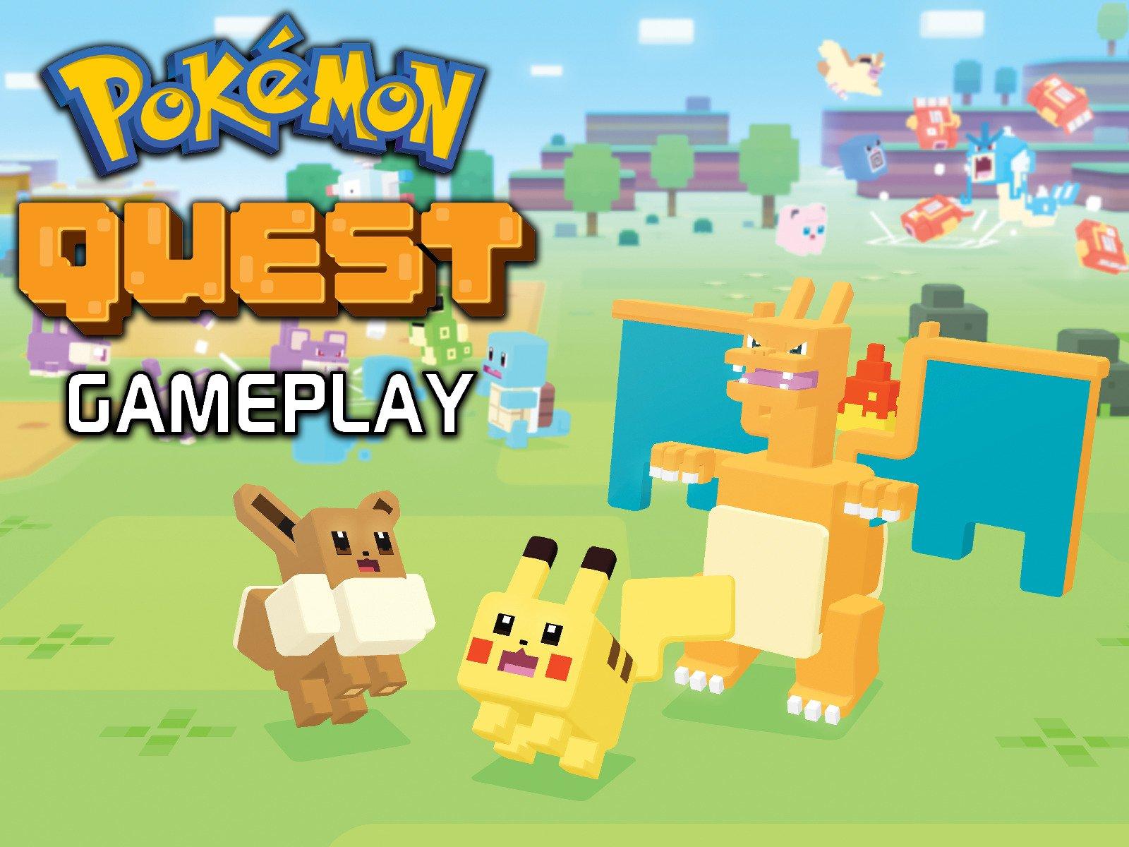 Pokemon Quest Gameplay