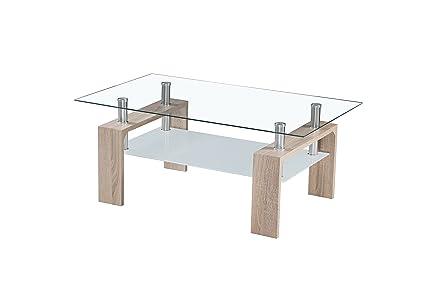 table verre 60 x 60