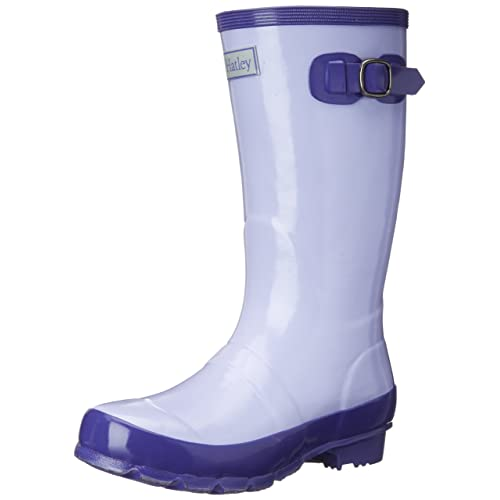 Hatley Big Girls Splash Lavender Boots