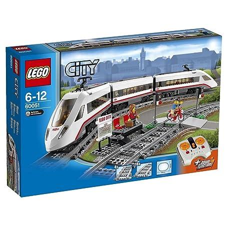 LEGO - 60051 - City - Jeu de construction - Le train de passagers à grande vitesse