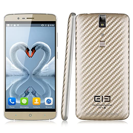 """Elephone P8000 4G 5.5"""" FHD Android 5.1 Octa-core 1.3GHz 3Gb RAM golden"""