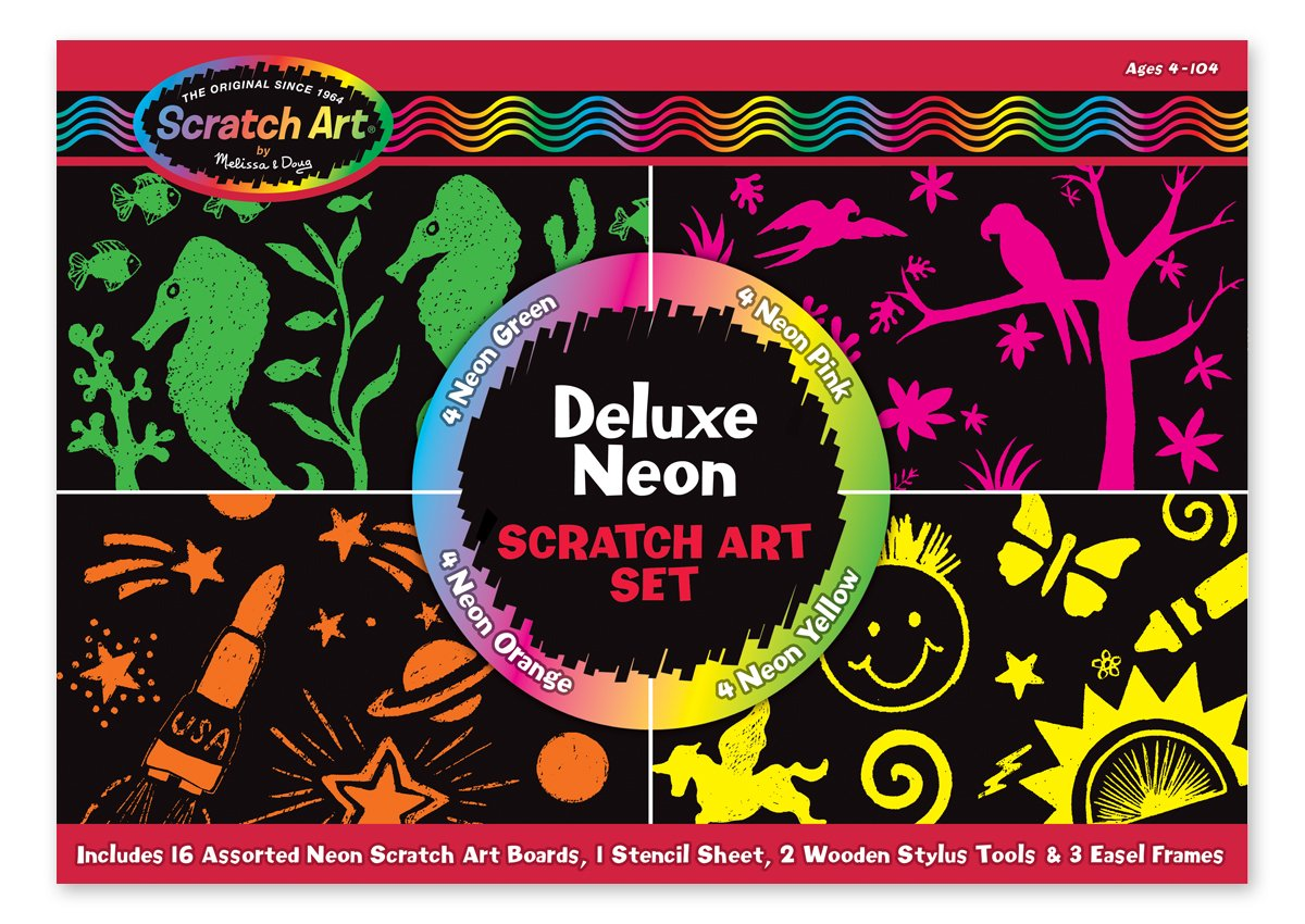 melissa-doug-deluxe-neon-scratch-art-set