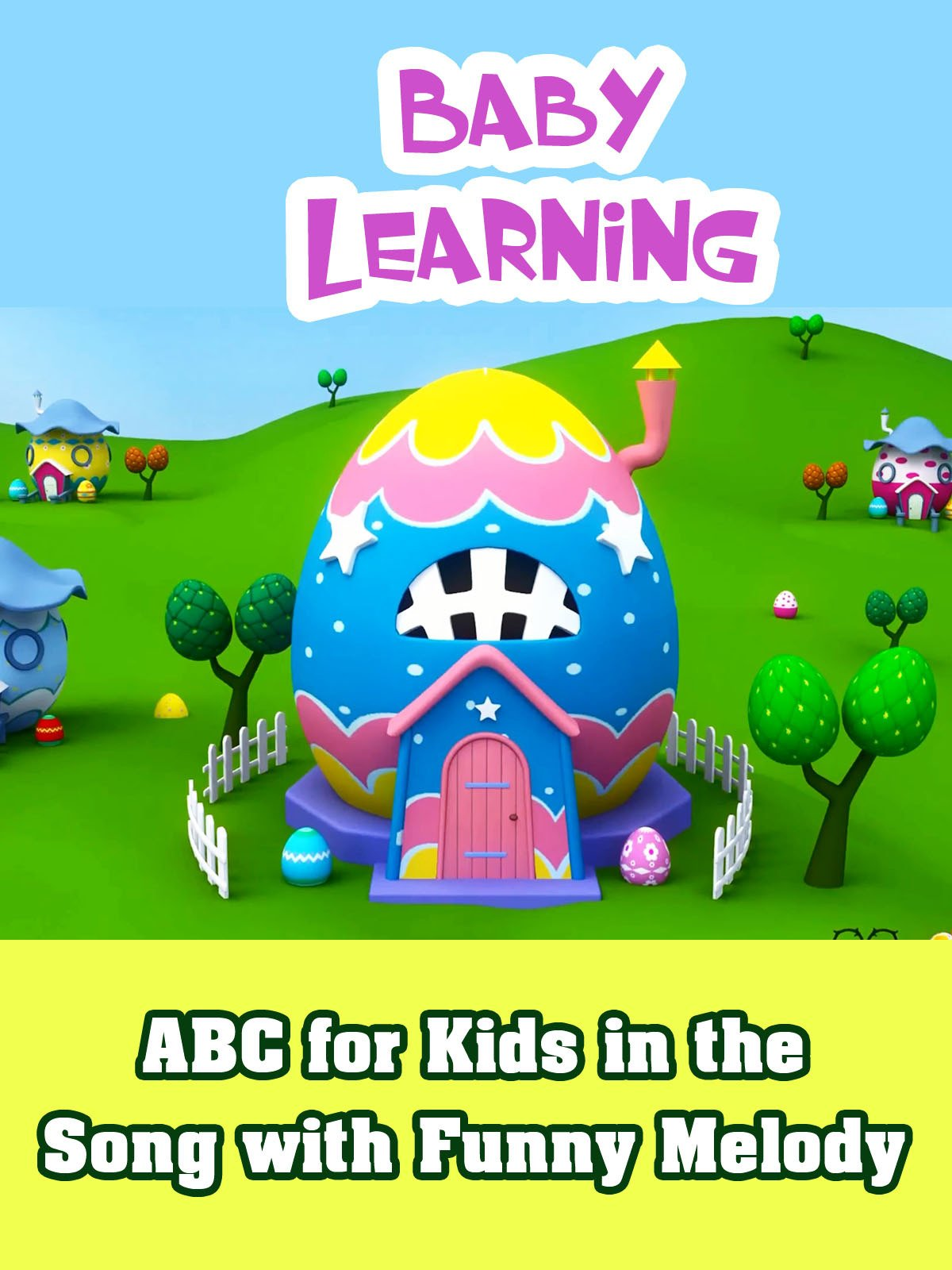 ABC for Kids in the Song with Funny Melody
