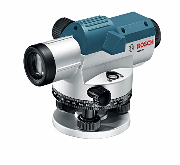 Bosch 26X Automatic Optical Level GOL26 (Color: Blue, Tamaño: Without Accessory Kit)