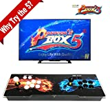 Pandora's Box 5 Support PS3 PC TV 2 Players 1280x720 Full HD (Color: Black)