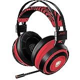 Razer Nari Ultimate Wireless 7.1 Surround Sound Gaming Headset: THX Audio & Haptic Feedback - Auto-Adjust Headband - Chroma RGB - Retractable Mic - for PC, PS4 - Pewdiepie Edition (Color: PewDiePie Limited Edition, Tamaño: Headset)