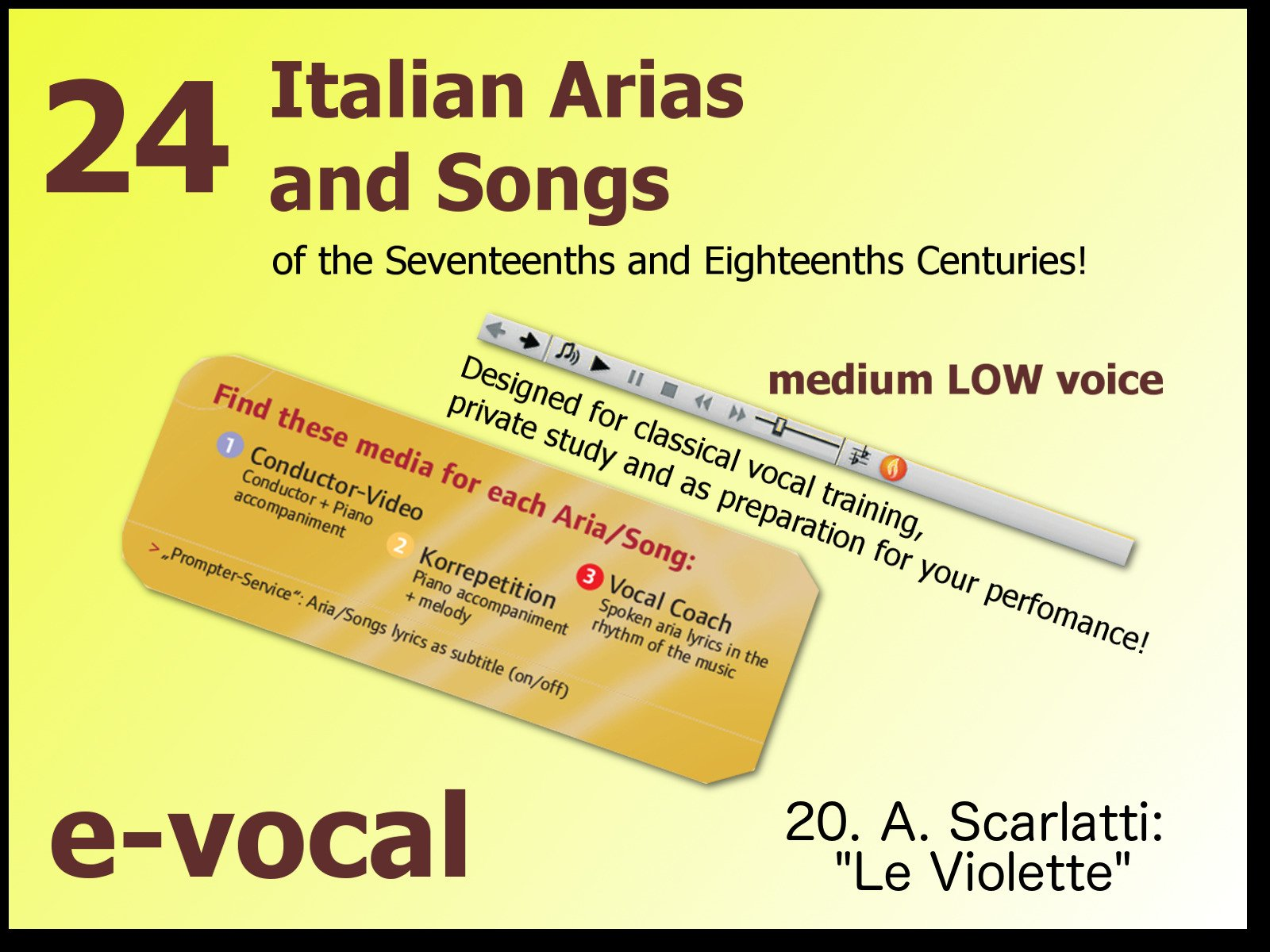 24 Italian Songs and Arias - Season 5