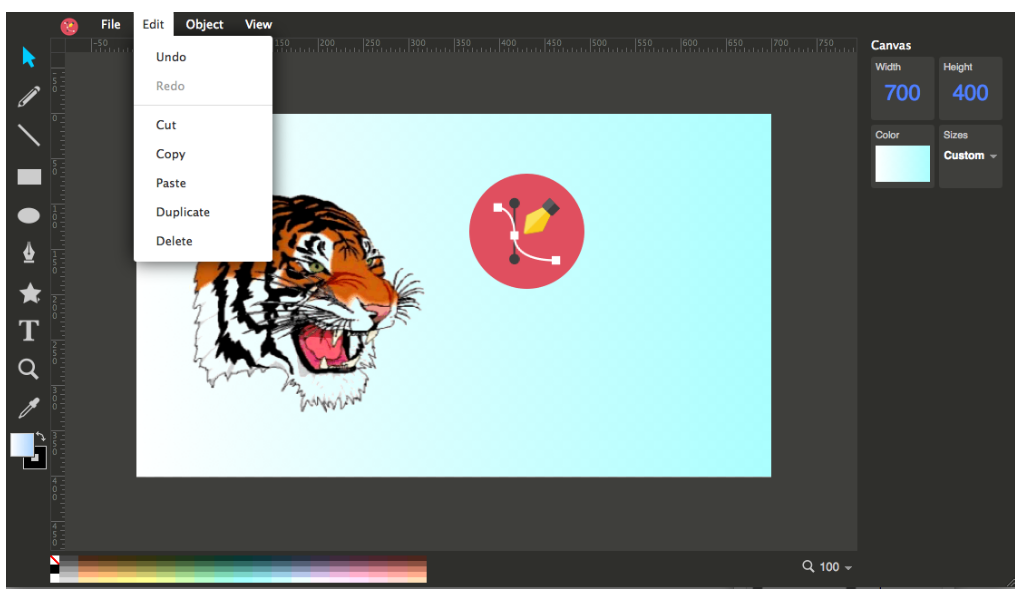 Ulmdraw Scalable Vector Graphics Editor