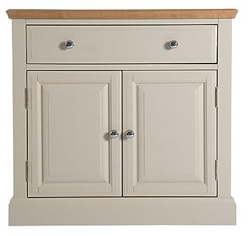 Highgrove Grey Painted 3 Door 3 Drawer Sideboard