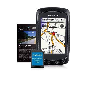 Garmin Edge 800 GPS Cycling Computer With Performance And Navigation Bundle