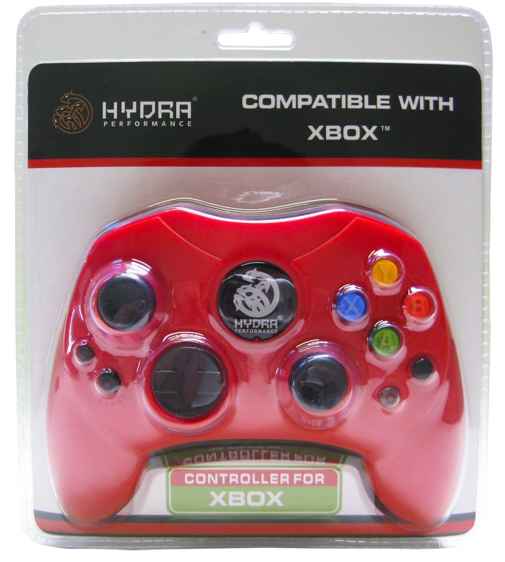 Hydra Performance XBOX Wired Controller S Type - Red xbox