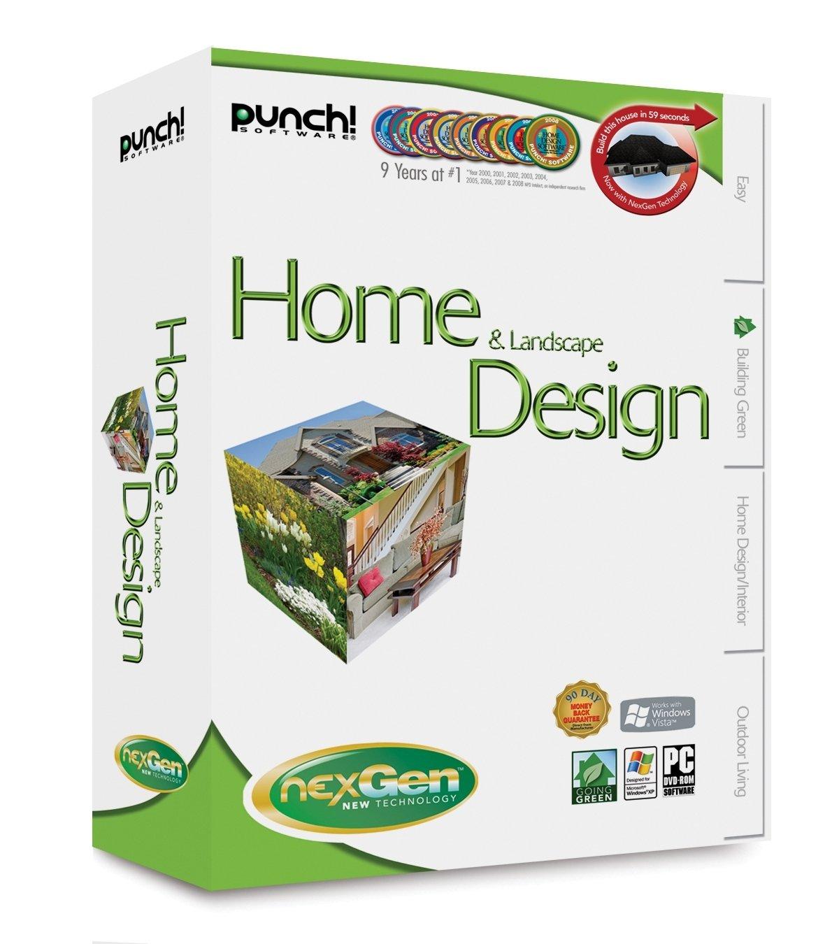 Punch Software Home & Land Design With NEXGEN Technology