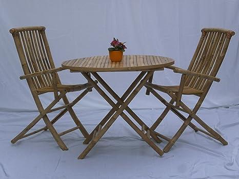 Muebles de Jardín Jardín Set Juego de café Balcón Muebles Balcón Conjunto de asiento de madera muebles exterior de asiento Grupo
