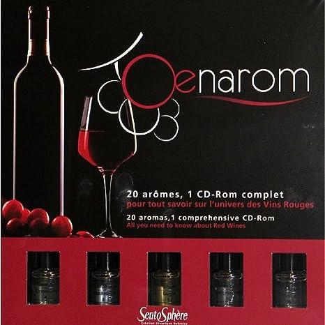 Sentosphere - 923 - Jeu de Société - Oenarom - Petit Modèle Vins - Rouge