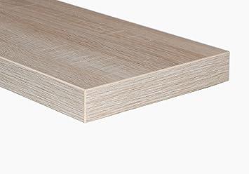 2 er set doppelpack steckboard wandboard wandregal eiche. Black Bedroom Furniture Sets. Home Design Ideas