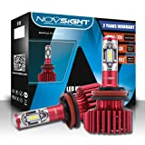 NIGHTEYE H11 LED Headlight Bulbs 60W(30w2) 10000LM(5000lm2) 6500K Cool White CSP LED Chips 2 Year Warranty (H11/H8/H9) (Color: H11/H8/H9)