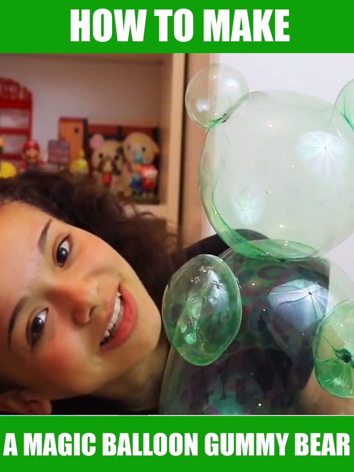 How to Make a Magic Balloon Gummy Bear