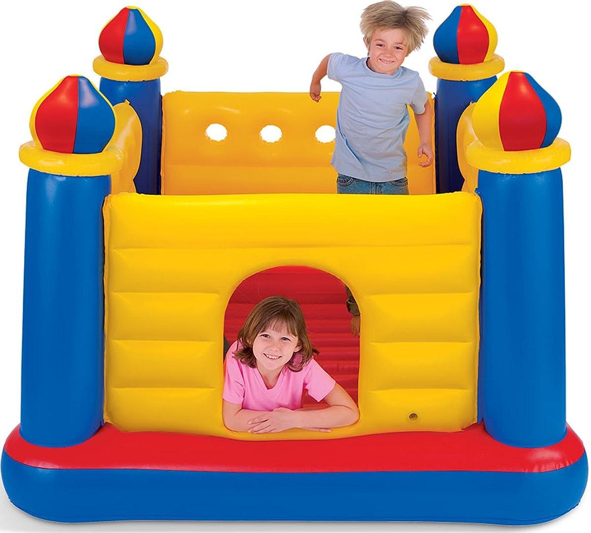 Intex Jump O Lene Castle Inflatable Bouncer, for Ages 3-6