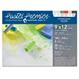 Speedball 517028 Premier Sanded Pastel Paper, 9 x 12, Assorted Colors (Color: Assorted Colors, Tamaño: 9 x 12)