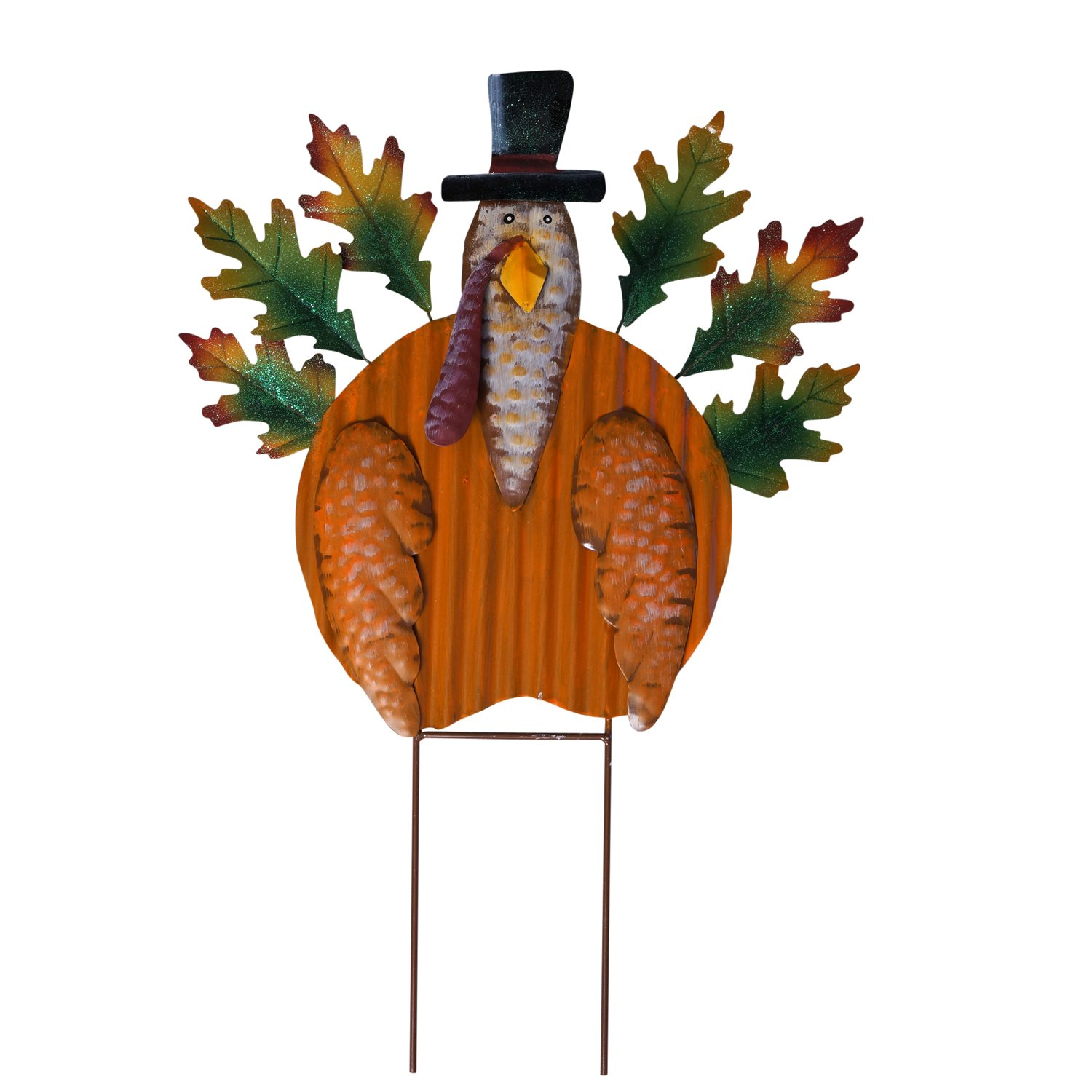 Thanksgiving outdoor garden stakes wikii