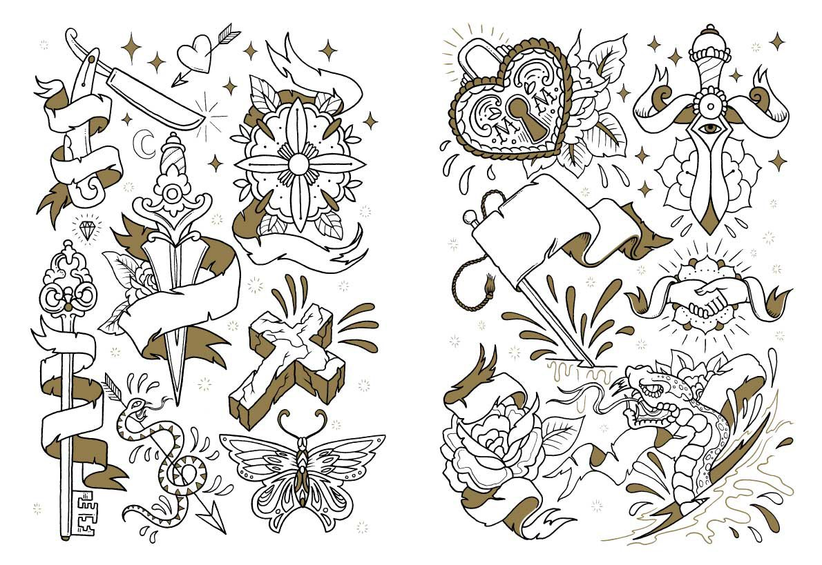 The coloring book project free download - Tattoo Coloring Book Online At Low S In India The Coloring Book Project