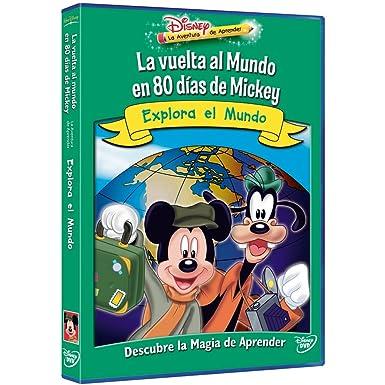 La vuelta al mundo en 80 días de Mickey: Explora el mundo [DVD]