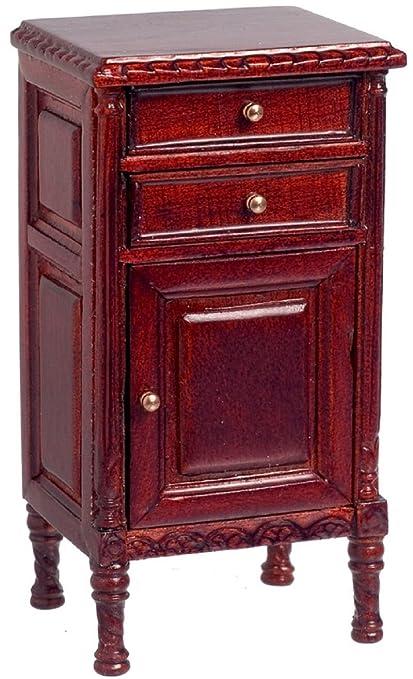 Maison De Poupées Plus Beaux Meubles Miniatures Acajou Lord Stanley Cabinet Occasionnel