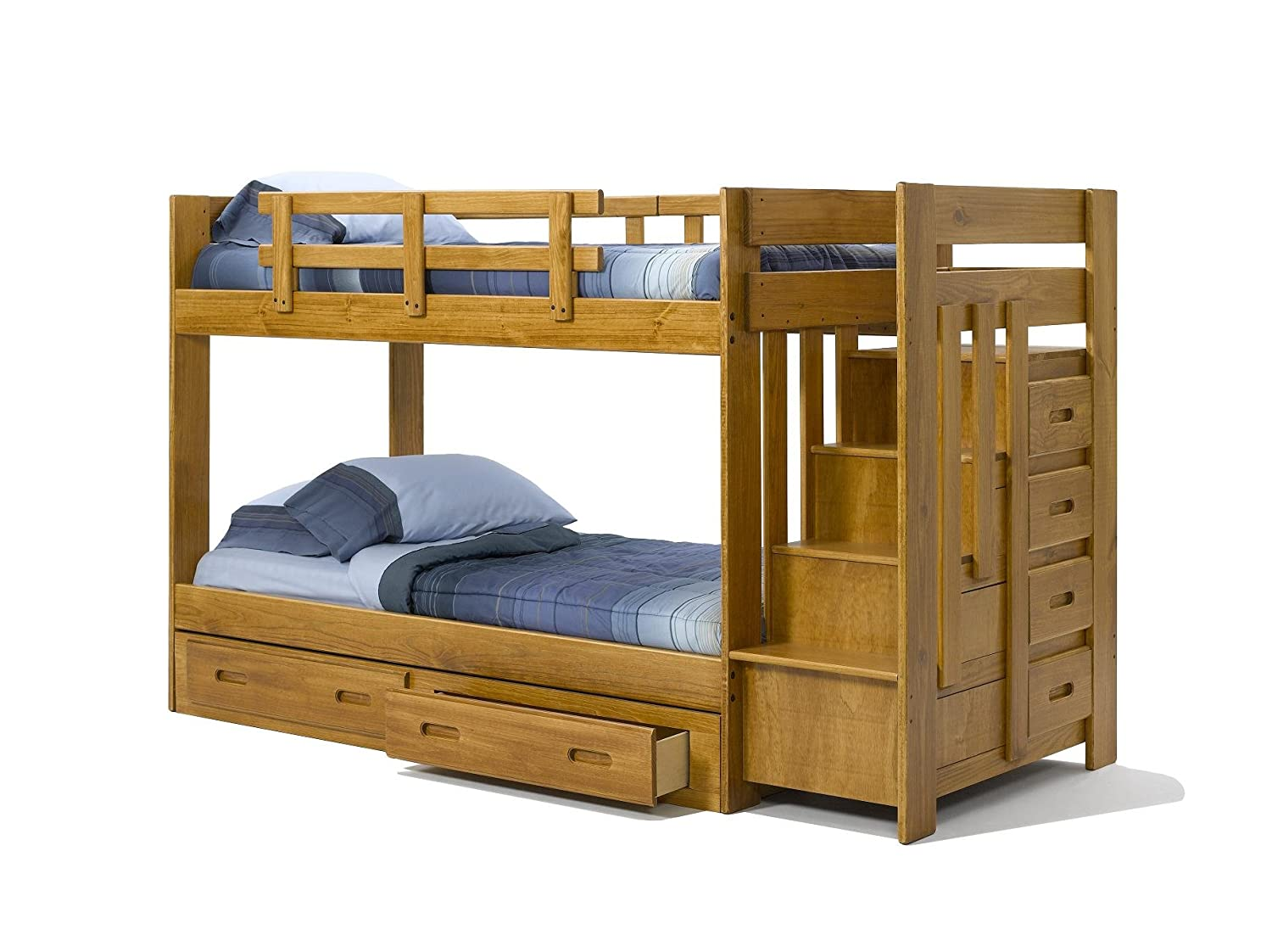 Are some of the things to consider or look for when buying a bunk bed