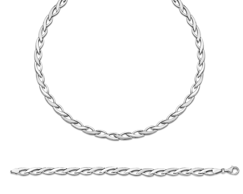Orphelia Damen-Schmuckset Pure Collection 925 Sterlingsilber Kette 43 cm Armband 19 cm SET-042 online kaufen