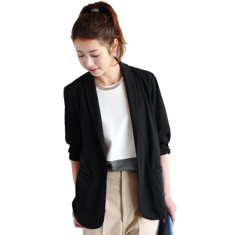 Amazon.co.jp: (ビューティーアンドユースユナイテッドアローズ) BEAUTY&YOUTH UNITED ARROWS BYTF ルーズカットソー9分袖ジャケット 16222990312 BLACK FREE: 服&ファッション小物通販