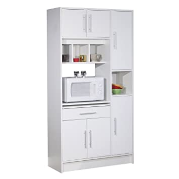 White Kitchen Storage Cabinet