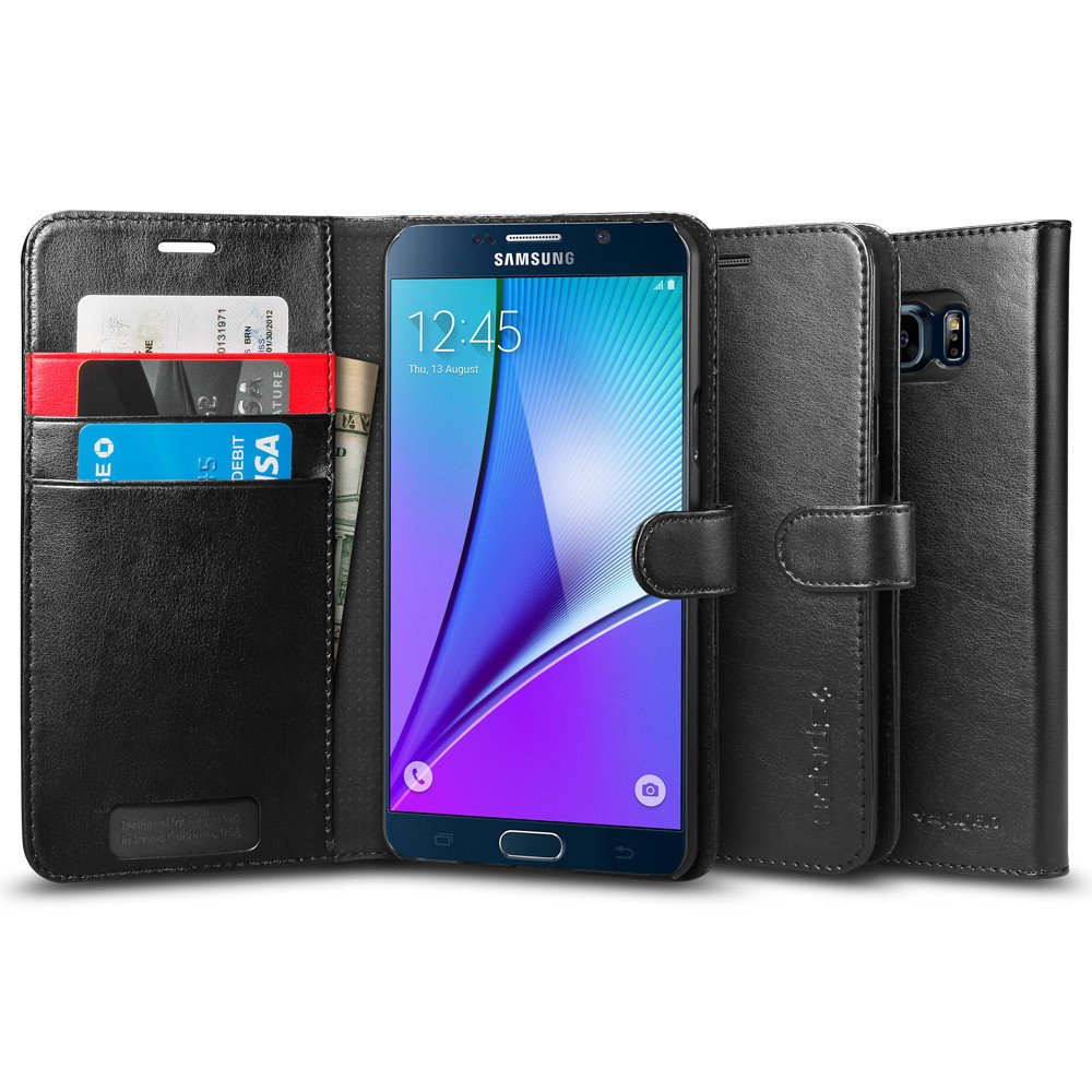 Galaxy Note 5 Case, Spigen Wallet Case