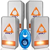Ultrasonic Pest Repeller | New 2018 Pest Control Ultrasonic Repellent - Set of 4 Electronic Pest Control - Plug in Home Indoor Repeller - Ultrasonic portable mosquito repellent gift -Get Rid of pests (Color: White and blue, Tamaño: 4 PACK)