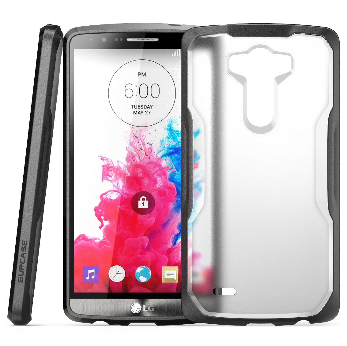 SupCase Premium Hybrid Protective Bumper Case for LG G3