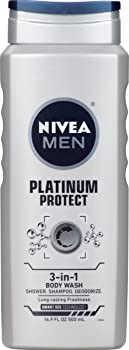 NIVEA Men Platinum Protect 3-in-1 Body Wash