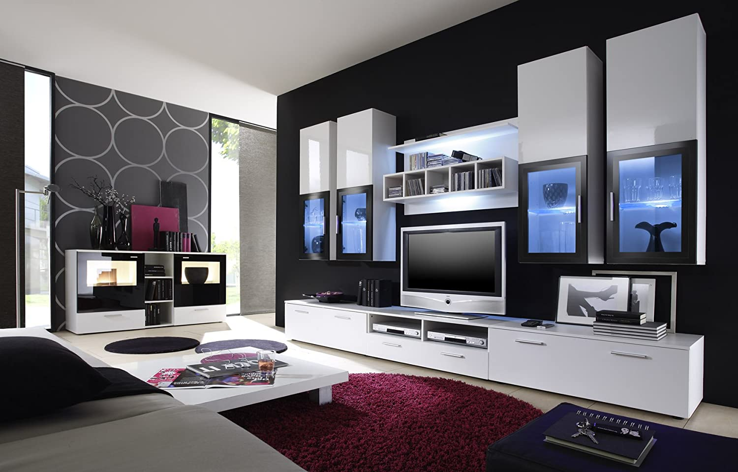 mobel m bel wohnzimmer. Black Bedroom Furniture Sets. Home Design Ideas