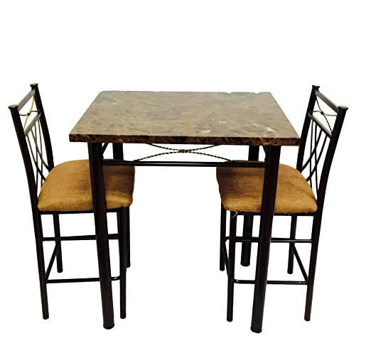 Hodedah High Table with 2 Chairs