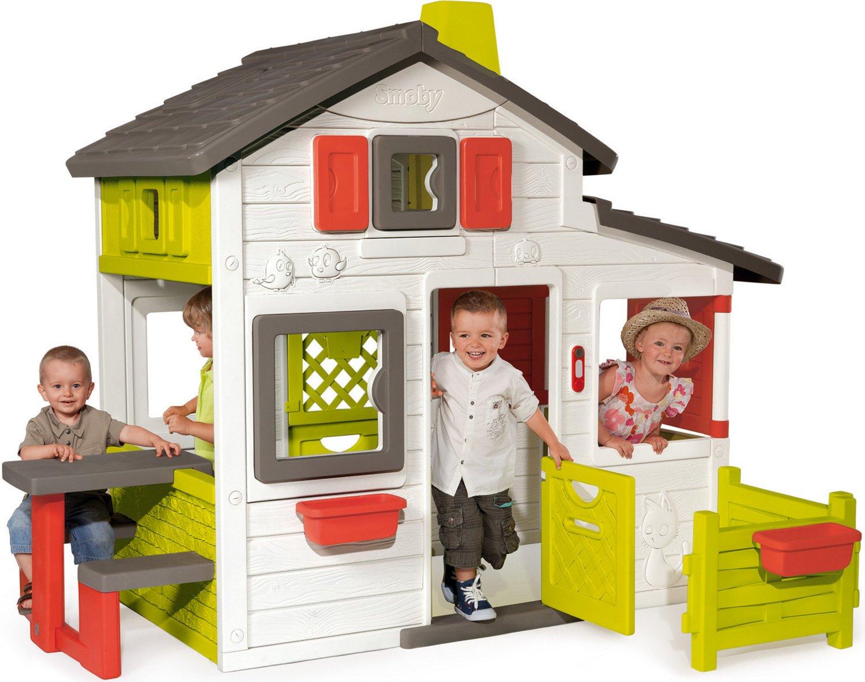 Smoby Spielhaus Polyester/Kunststoff Bunt