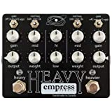 Empress Effects Heavy Dual-Channel Distortion Guitar Effects Pedal (Color: MultiColored)
