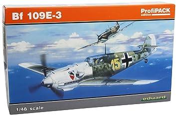 Eduard EDK8262 Me Bf109E-3 1:48 Plastic Kit Maquette