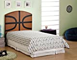 Furniture of America CM7103BSKT-T Twin Basketball Headboard Only