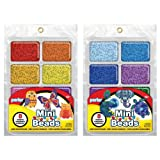 Perler Mini Beads Tray Bundle - Warm and Cool (Color: Warm and Cool)