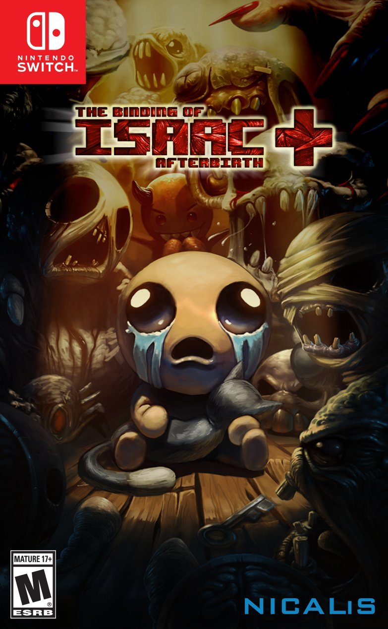 Sega Binding Isaac Afterbirth Nintendo Switch