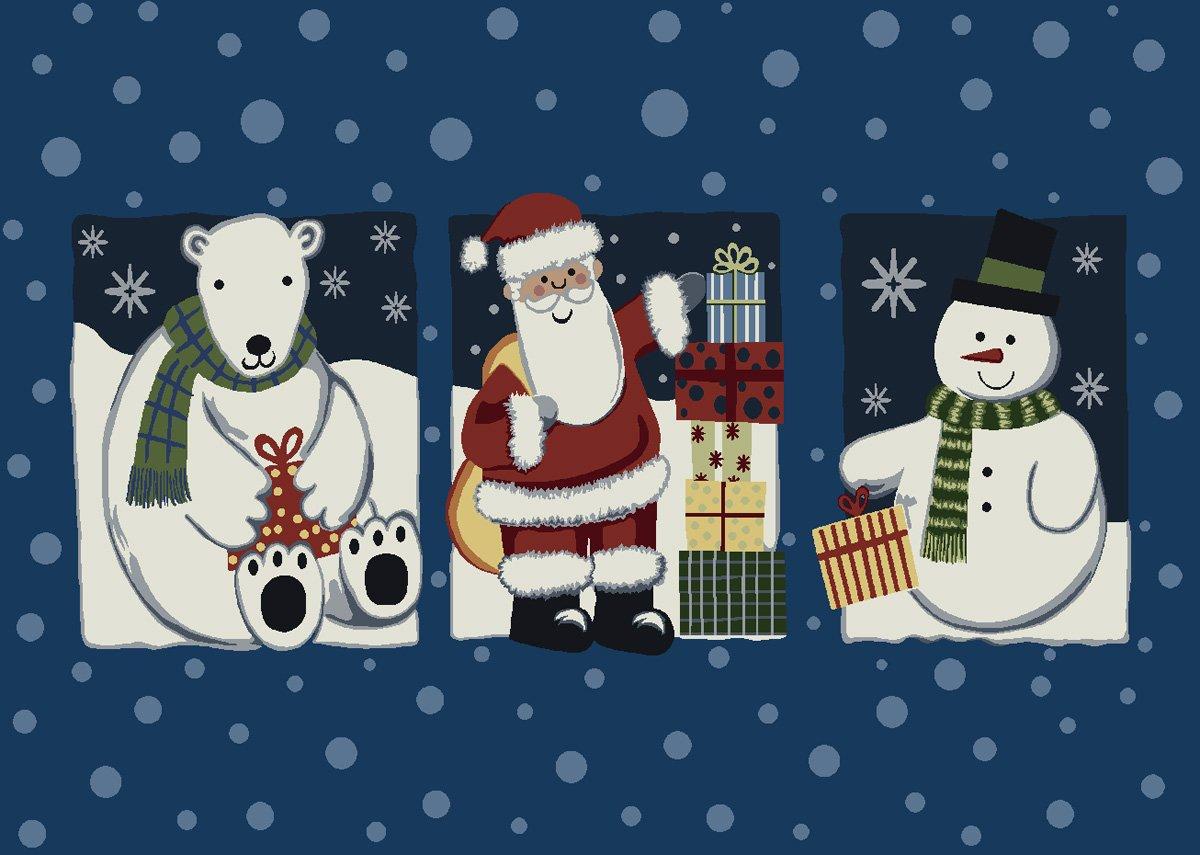 Milliken Tis the Season Holiday Rug
