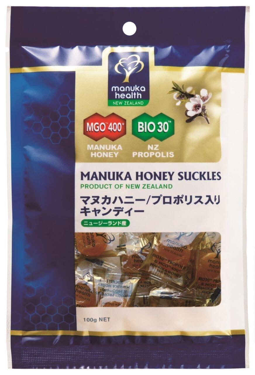 プロポリス&マヌカハニーMGO400+ キャンディー