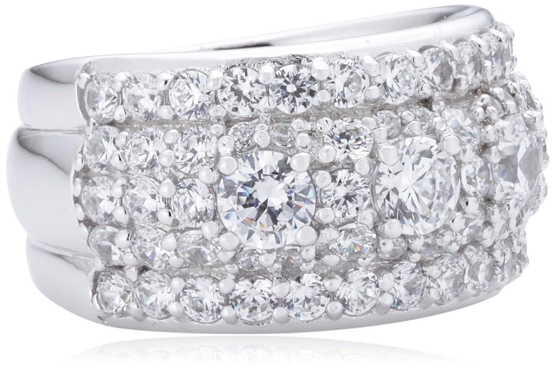 Diamonfire Damen-Ring Cocktail Zirkonia 925 Sterling Silber weiß  61/0983/1/082 jetzt bestellen