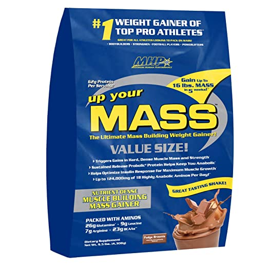 MHP Up your MASS Gainer 10lbs Fudge Brownie