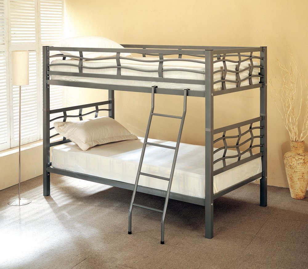 Coaster Twin/Twin Bunk Bed, Metal
