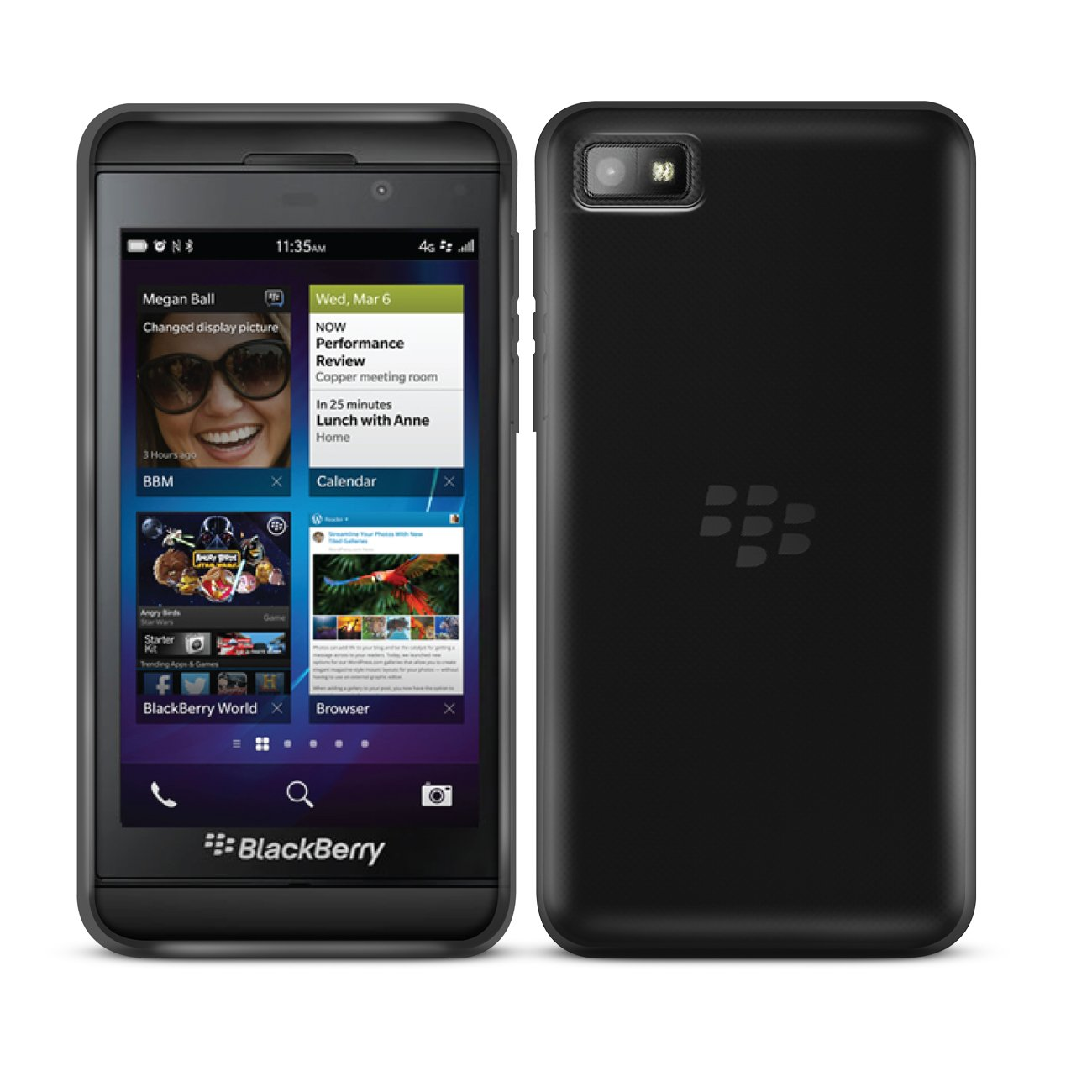 G-HUB® - BlackBerry Z10 Protective Bendy Soft Gel Case  Electrónica Comentarios de clientes y más información